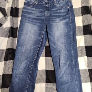 Size medium-R,  high-rise, Maurice's Jeans